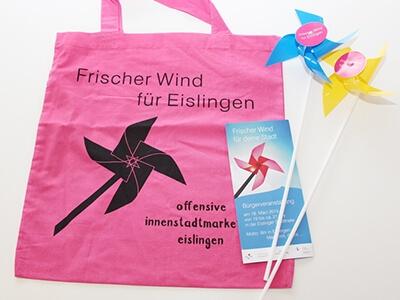 Werbemittel Innenstadtmarketing Eislingen