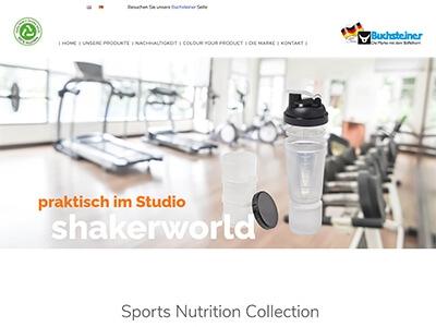 Webseite Shakerworld